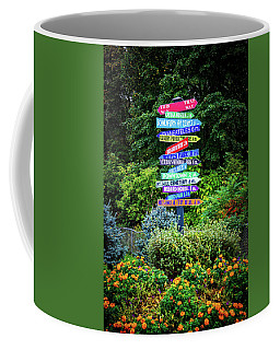 Coffee Mug featuring the photograph Choices - Finger Lakes, New York by Lynn Bauer