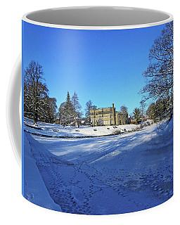 Chorley. Astley Hall In The Snow Coffee Mug