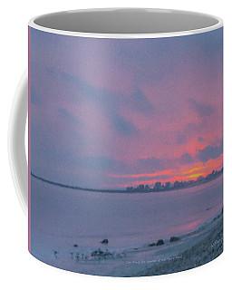 Christmas Eve Sunset Westport Point Coffee Mug