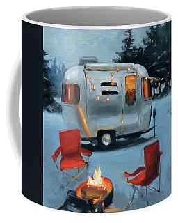 Christmas In The Snow Coffee Mug