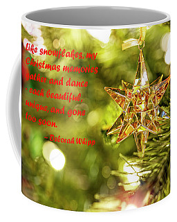 Coffee Mug featuring the photograph Christmas Is Like Snowflakes by Kay Brewer