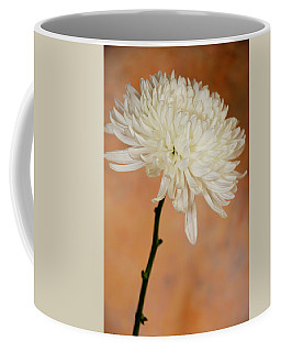 Chrysanthemum On Canvas Coffee Mug
