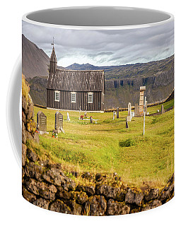 Church Cemetery Of Iceland Coffee Mug