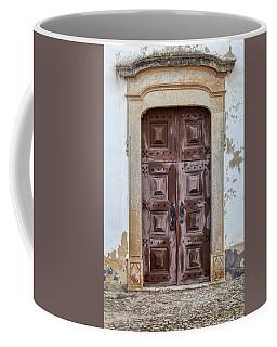 Church Door Of Obidos Coffee Mug