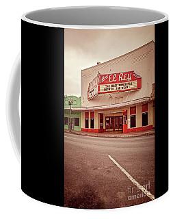 Cine El Rey Theater Coffee Mug