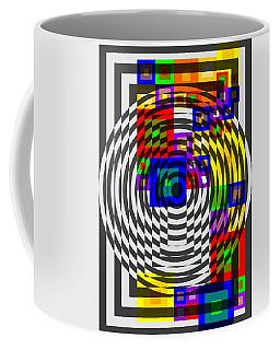 Circular Colour Fusion  Coffee Mug