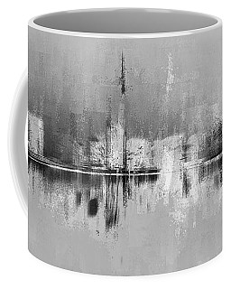 City In Black Coffee Mug