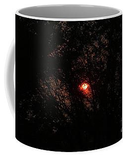 Coffee Mug featuring the photograph City Sunrise by Ann E Robson