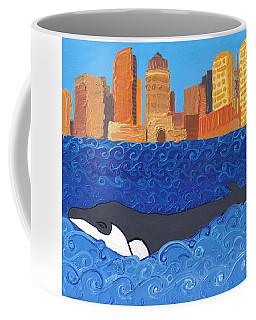 City Whale Coffee Mug