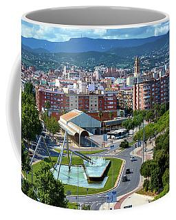 Cityscape In Reus, Spain Coffee Mug