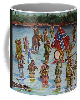 Civil War Battle, Spanish Fort, Spanish Fort,mobile Bay, Alabama Coffee Mug