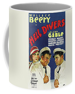 Classic Movie Poster - Hell Divers Coffee Mug