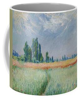 Claude Monet  French, 1840-1926   Wheat Field Coffee Mug