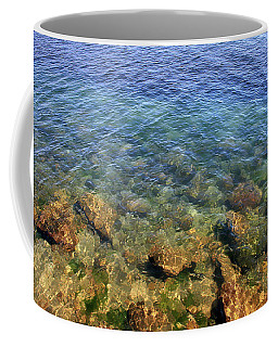 Clear Water At Morro Bay Coffee Mug