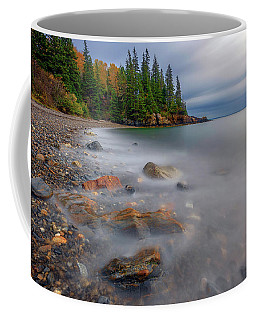 Coffee Mug featuring the photograph Clearing Storm At Owl's Head by Rick Berk