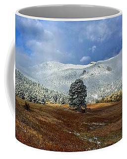 Coffee Mug featuring the photograph Clearing Storm by Dan Miller