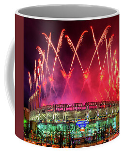 Cleveland Indians Fireworks Coffee Mug