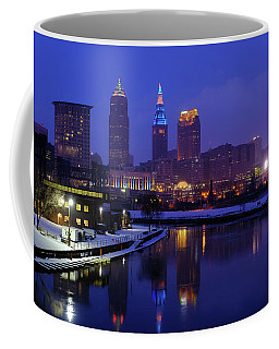 Cleveland River Reflections Coffee Mug