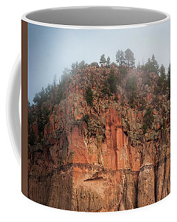 Cliff Face Hz Coffee Mug