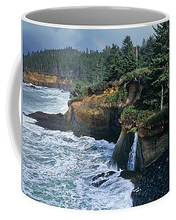 Cliffs Of Boiler Bay Coffee Mug
