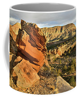 Cliffside Rock Cropping In Colorado National Monument Coffee Mug
