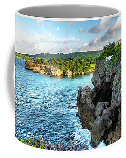 Cliffside Views Portland Jamaica Coffee Mug