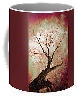 Coffee Mug featuring the photograph Climbing Red Fiery by James BO Insogna