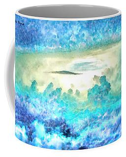 Cloud Abstractions Blue - Da Coffee Mug