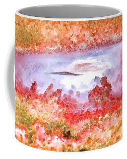Cloud Abstractions Orange - Da Coffee Mug