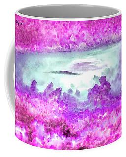 Cloud Abstractions Purple - Da Coffee Mug