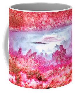 Cloud Abstractions Red - Da Coffee Mug