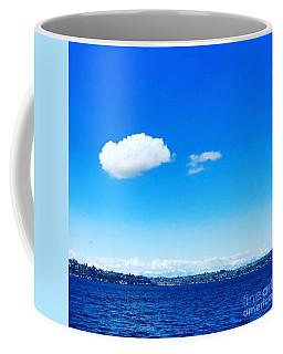 Cloud In Blue Coffee Mug