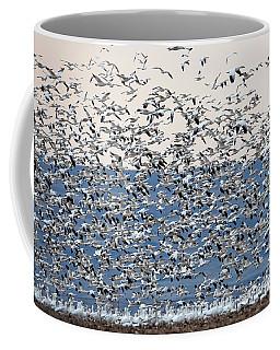 Cloud Of White Coffee Mug