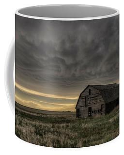 Clouds And Barn Coffee Mug