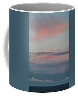 Clouds Over The Ocean Coffee Mug