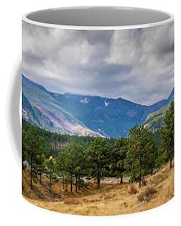 Clouds Over The Rockies Coffee Mug