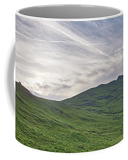 Clouds Over Thorpe Cloud Coffee Mug