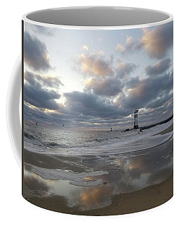Cloud's Reflections At The Inlet Coffee Mug