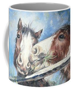 Clydesdale Pair Coffee Mug