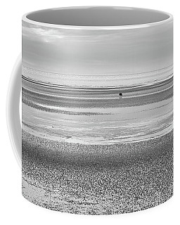 Coastal Brown Bear On  A Beach In Monochrome Coffee Mug