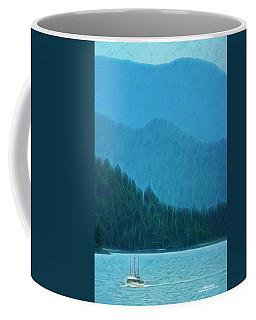 Coffee Mug featuring the photograph Coastal Life In Alaska by Mike Braun
