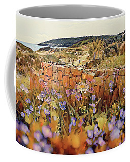 Coastal Pathway Throuigh The Dunes Coffee Mug
