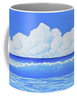 Cobalt Wave Coffee Mug