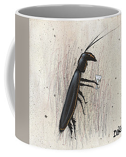 Cockroach With Martini Coffee Mug