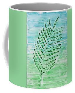 Coconut Leaf Coffee Mug