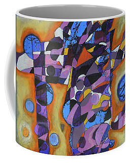 Coffee Mug featuring the painting Cold Release by Mark Jordan