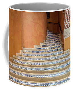 Coffee Mug featuring the photograph Colonial Stairs by Juan Contreras