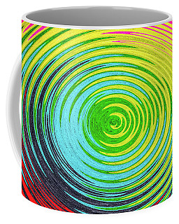 Coffee Mug featuring the photograph Color Fabric Warp by SR Green