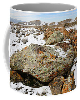 Color In The Book Cliff Desert Coffee Mug