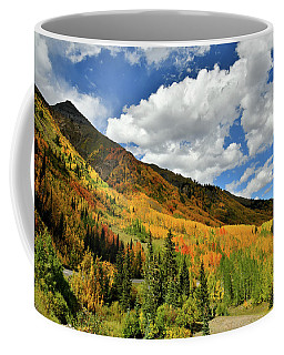 Color In The Spotlight At Red Mountain Pass Coffee Mug